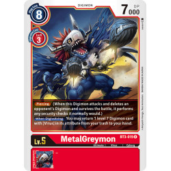 BT3-015 R MetalGreymon Digimon
