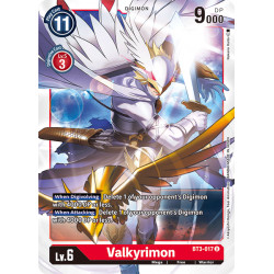 BT3-017 U Valkyrimon Digimon