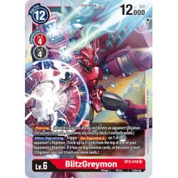 BT3-018 SR BlitzGreymon...