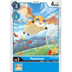 BT3-020 C Patamon Digimon