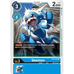 BT3-021 R Veemon Digimon