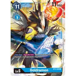 BT3-029 U Goldramon Digimon