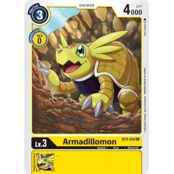 BT3-032 C Armadillomon Digimon