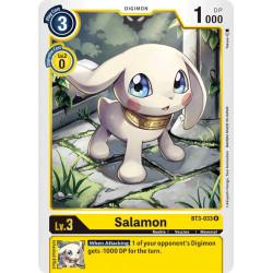 BT3-033 R Salamon Digimon
