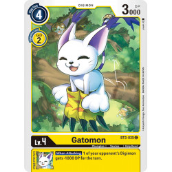 BT3-035 C Gatomon Digimon