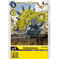 BT3-036 U Ankylomon Digimon