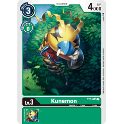 BT3-045 C Kunemon Digimon