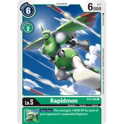 BT3-052 C Rapidmon Digimon