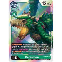 BT3-056 SR Ceresmon Digimon