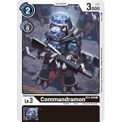 BT3-059 C Commandramon Digimon