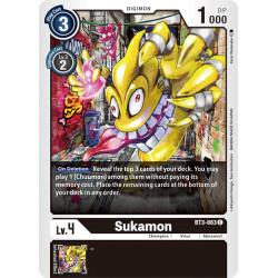 BT3-063 C Sukamon Digimon