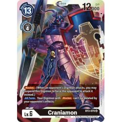 BT3-075 SR Craniamon Digimon