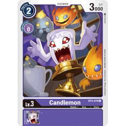 BT3-076 C Candlemon Digimon