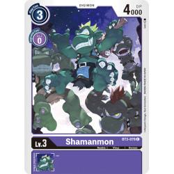 BT3-078 C Shamanmon Digimon