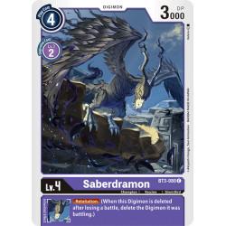 BT3-080 C Saberdramon Digimon