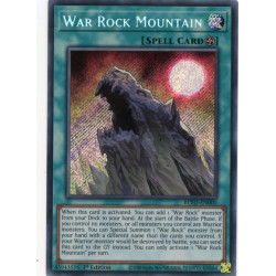 YGO BLVO-EN000 SeR War Rock Mountain