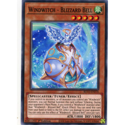 YGO BLVO-EN016 C Windwitch - Blizzard Bell