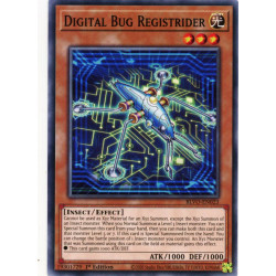 YGO BLVO-EN023 C Digital Bug Registrider
