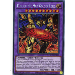 YGO BLVO-EN040 SeR Eldlich the Mad Golden Lord