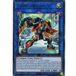 YGO BLVO-EN048 UR S-Force Justify