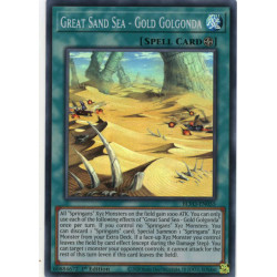 YGO BLVO-EN055 SuR Great Sand Sea - Gold Golgonda
