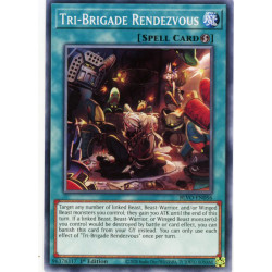YGO BLVO-EN056 C Tri-Brigade Rendezvous