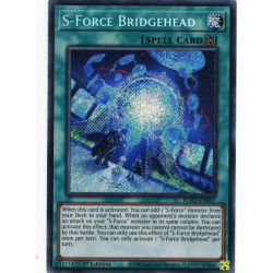 YGO BLVO-EN057 SeR S-Force Bridgehead
