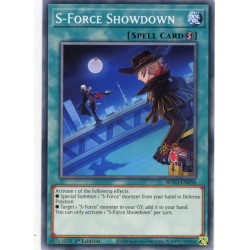 YGO BLVO-EN058 C S-Force Showdown