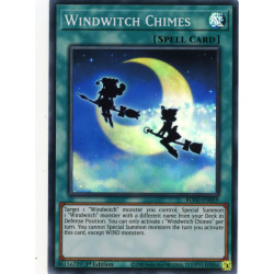 YGO BLVO-EN059 SuR Windwitch Chimes