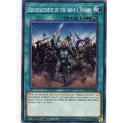 YGO BLVO-EN088 C Reinforcement of the Army's Troops