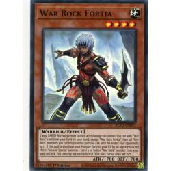 YGO BLVO-EN093 SuR War Rock Fortia