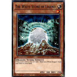 YGO LDS2-EN004 C The White Stone of Legend