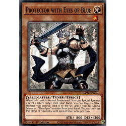 YGO LDS2-EN010 C Protector with Eyes of Blue