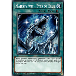 YGO LDS2-EN027 C Majesty with Eyes of Blue