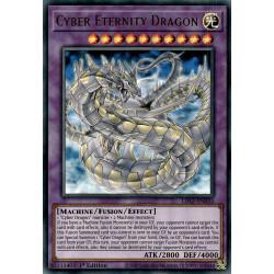 YGO LDS2-EN033 CRBlue Cyber Eternity Dragon