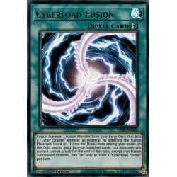 YGO LDS2-EN035 URPurple Cyberload Fusion