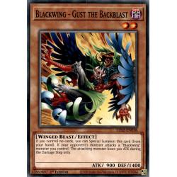 YGO LDS2-EN038 C Blackwing - Gust the Backblast