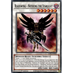 YGO LDS2-EN043 C Blackwing - Nothung the Starlight