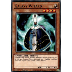 YGO LDS2-EN048 C Galaxy Wizard
