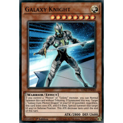 YGO LDS2-EN049 URPurple Galaxy Knight