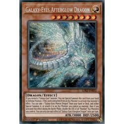 YGO LDS2-EN052 0 Galaxy-Eyes Afterglow Dragon