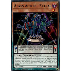 YGO LDS2-EN058 C Abyss Actor - Extras