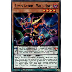 YGO LDS2-EN059 C Abyss Actor - Wild Hope