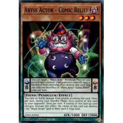 YGO LDS2-EN061 C Abyss Actor - Comic Relief