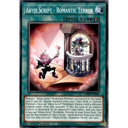 YGO LDS2-EN062 C Abyss Script - Romantic Terror