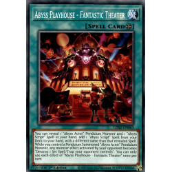 YGO LDS2-EN063 C Abyss Playhouse - Fantastic Theater