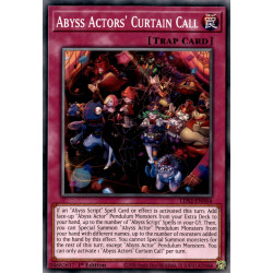 YGO LDS2-EN064 C Abyss Actors' Curtain Call
