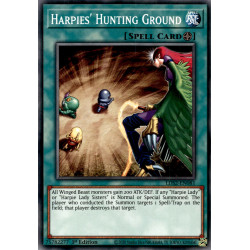 YGO LDS2-EN081 C Harpies' Hunting Ground