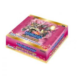 Digimon Card Game Boîte de 24 boosters BT04 Great Legends