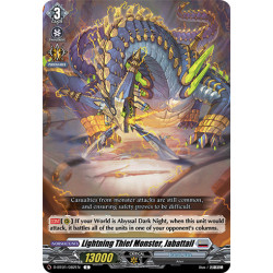 CFV D-BT01/082EN C Lightning Thief Monster, Jabattail